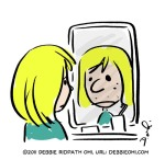 OHI0022-GirlReflectionMirrorUnreliable-sm