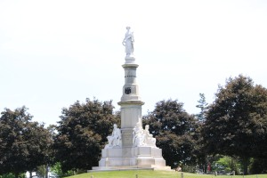 Site of Lincoln's Gettysburg Address