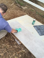 Adding linoleum
